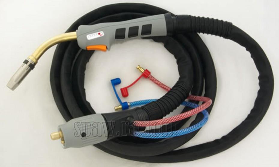 Nowość Uchwyt spawalniczy SP501/5m (MB501/5m - typ BINZEL) SPARTUS MASTER JT08