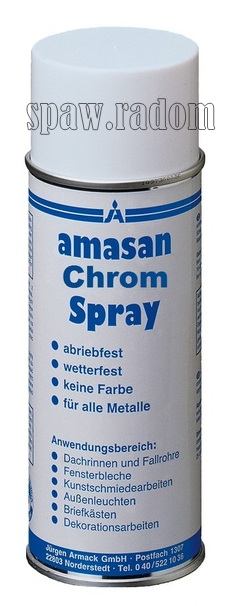 Chrom w aerozolu 400ml (AM0042)